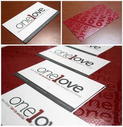 One Love Business Card