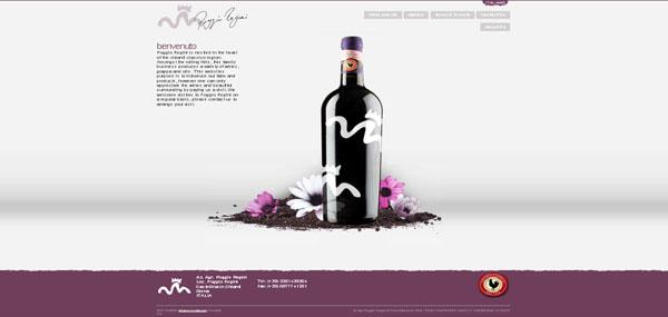 Poggio Regini web design