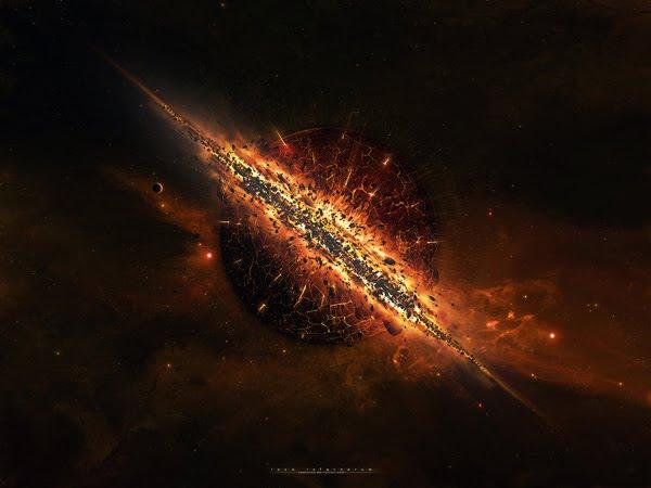 Space Art by taenaron