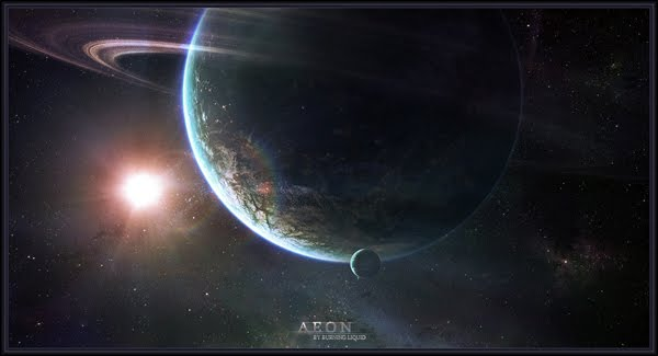 Aeon WP-Pack space art