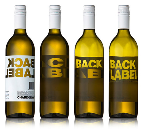 Back Label Packaging