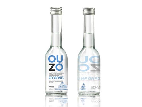 OUZO Zarbanis Packaging