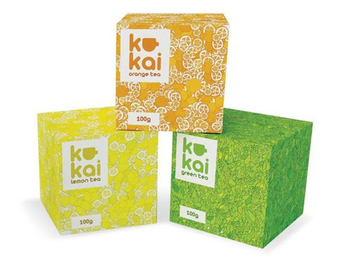 Kukai Tea Packaging