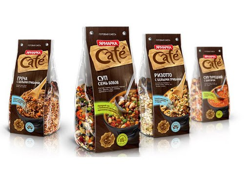 Yarmarka Café Packaging