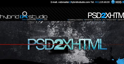 Hybridixstudio web design