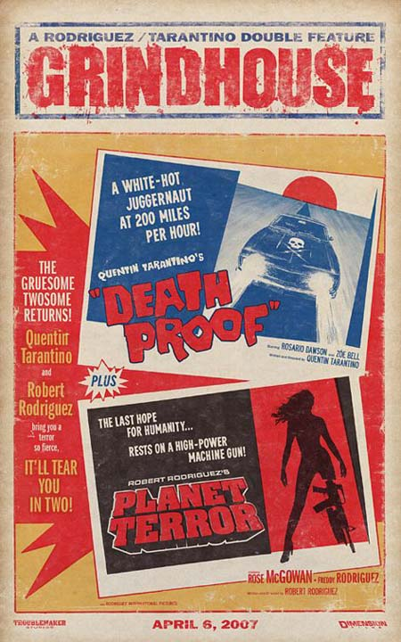 Grindhouse retro poster