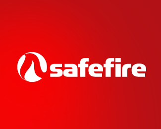 safe fire logo design