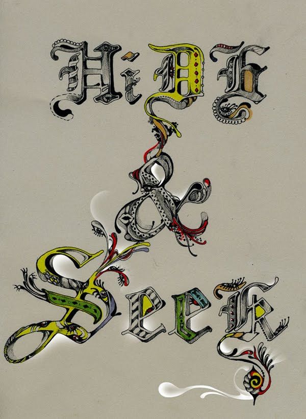 ornamental Typography by Pomme Chan
