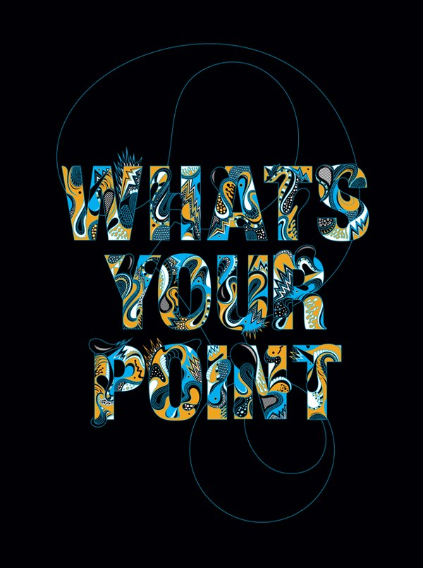 Typography by Ginger Monkey