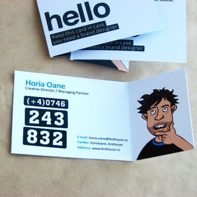 BroHouse Business Cards