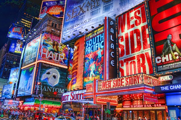 Times Square by Bary Burke