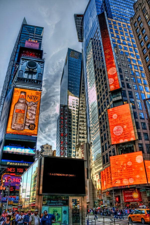HDR - Times Square by Nico Potgieter