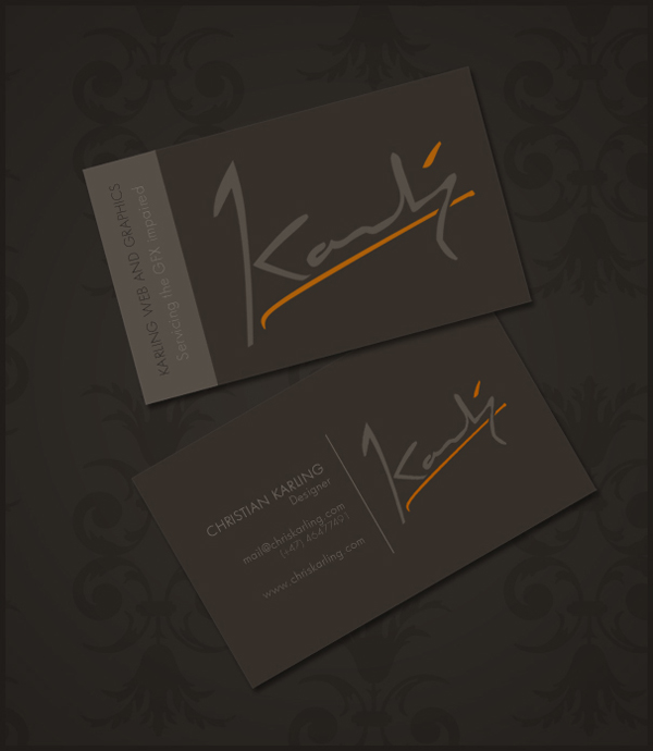Business card concept by screwcork