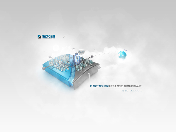 Planet NexGen - Web Design