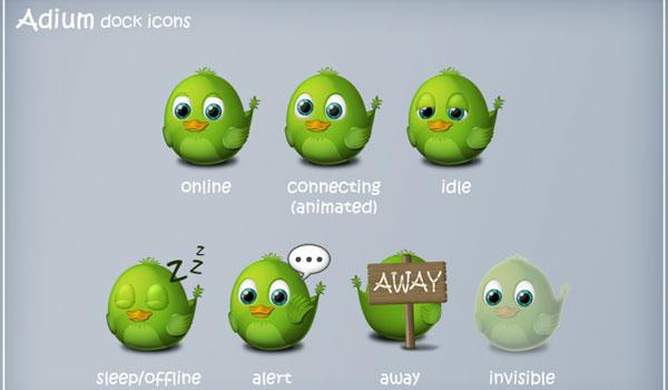 Fresh Twitter Icon Sets 2010 Version
