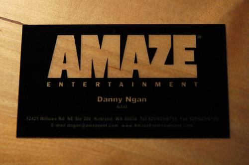 Amaze Business Card