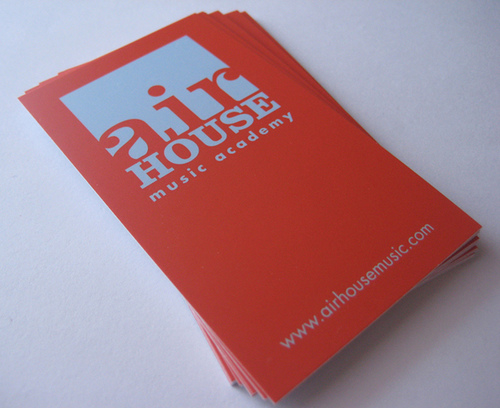 Air House Business Card