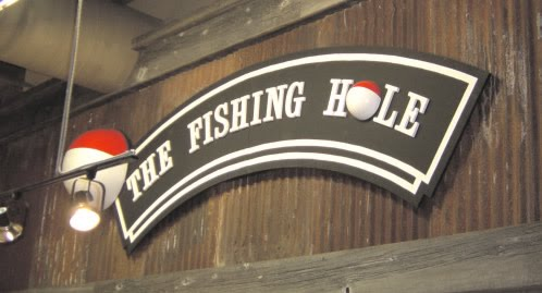 Fishing Hole sign