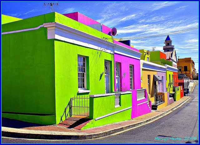 Bo-Kaap abstract photography