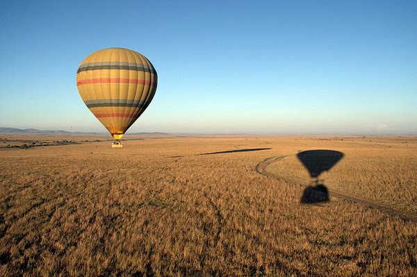 Balloon over Masai Mara