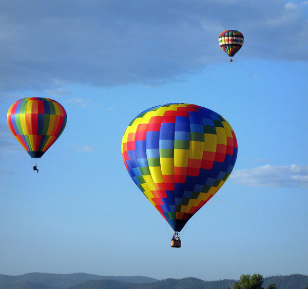 Balloons over the Rockies