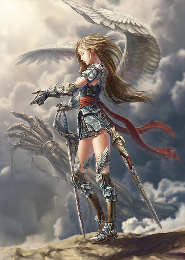 Angel Knight Of The Rune