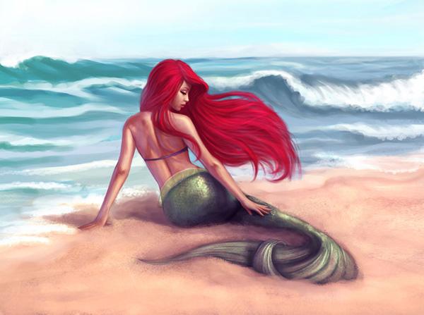 Ariel by Daniela Uhlig