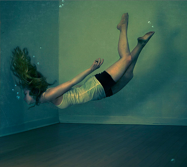 in the aquarium by brookeshaden
