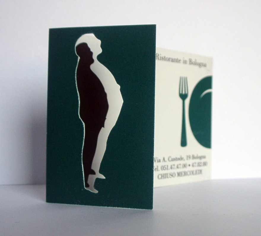 die cut plastic business cards