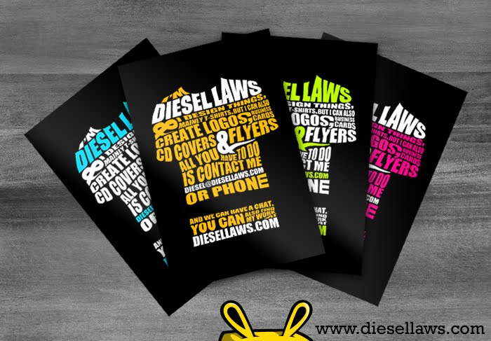 Tshirt Design Business Card