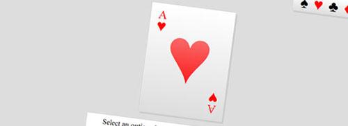 CSS3 Card Trick: A Fun CSS3 Experiment