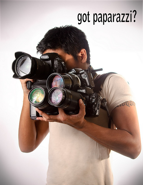 got paparazzi