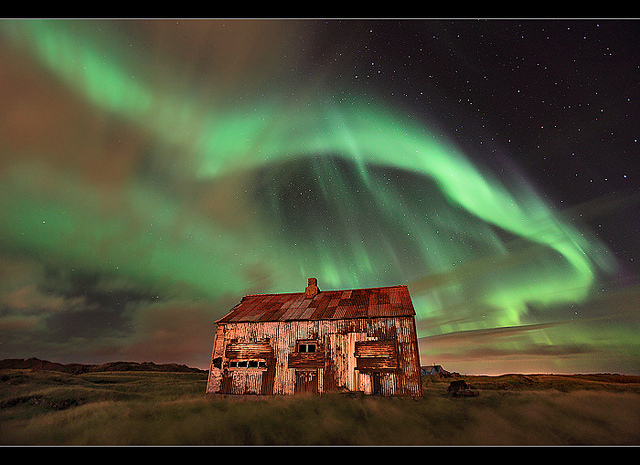 Aurora over Rusty Shack