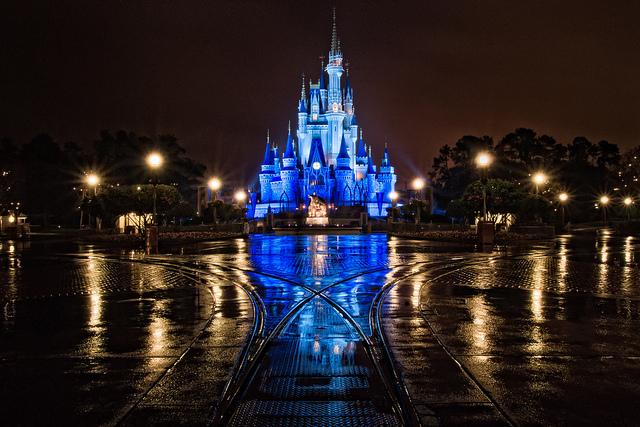 A Wet Evening