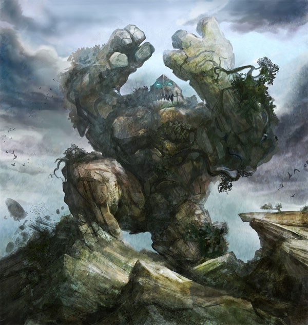 Earth Elemental by stevegoad11 20 Stunning Game Character Concept Arts