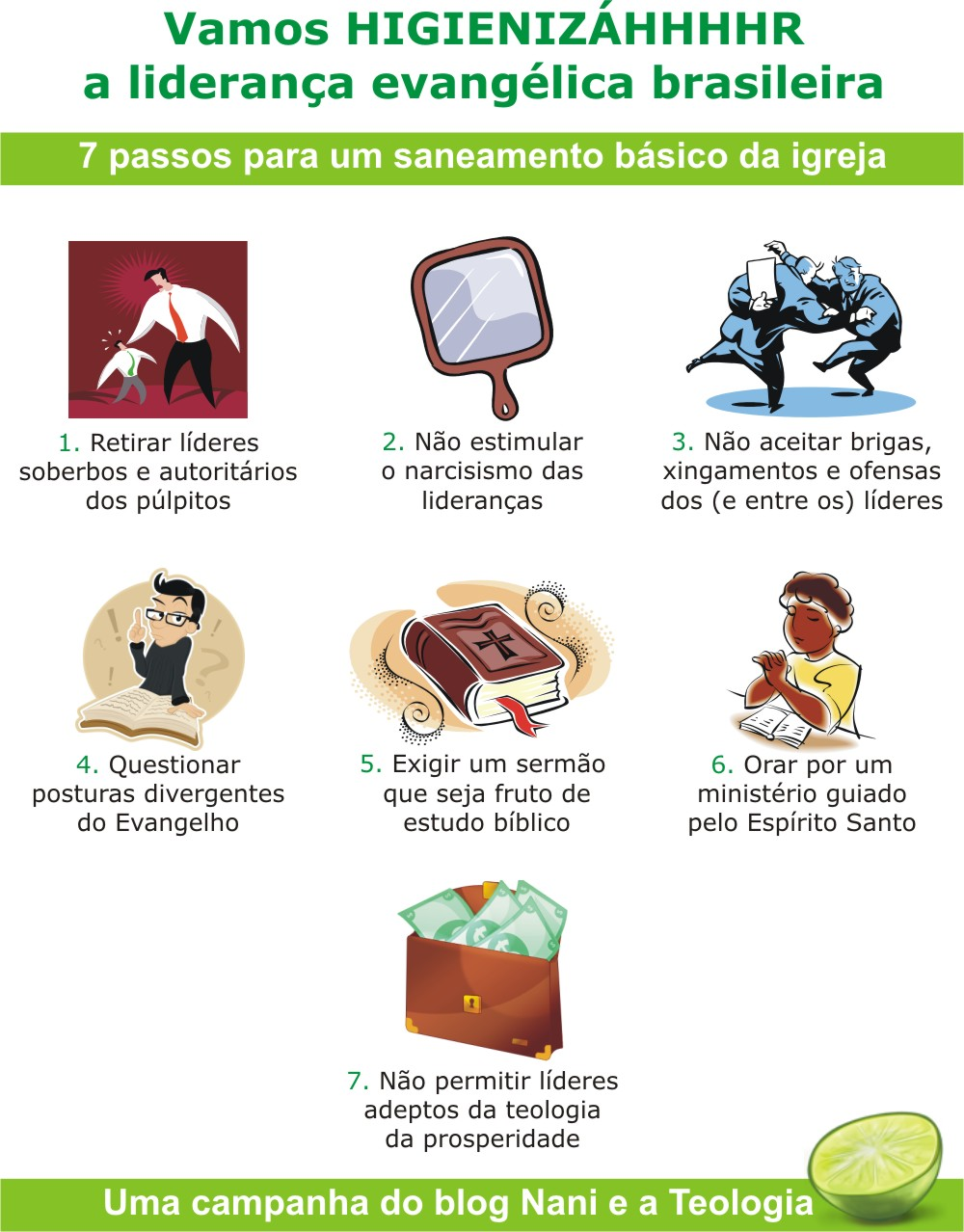 higienizar Vamos HIGIENIZÁHHHHR a liderança evangélica brasileira!