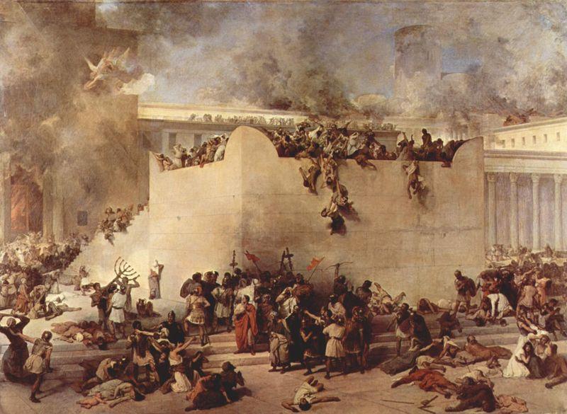 A DESTRUIÇÃO DO TEMPLO DE JERUSALEM