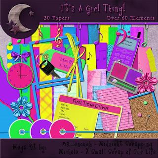 http://midnightscrapping.blogspot.com/2009/04/its-girl-thing-mega-kit-freebie.html