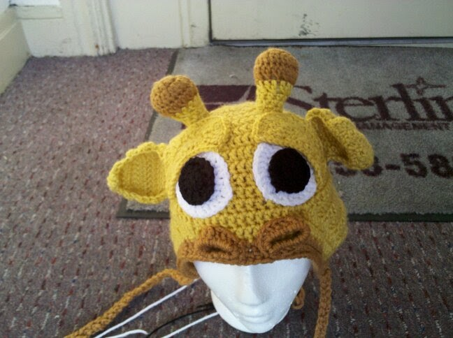 Free Crochet Pattern Giraffe Hat : FREE CROCHET GIRAFFE PATTERN - Crochet and Knitting Patterns