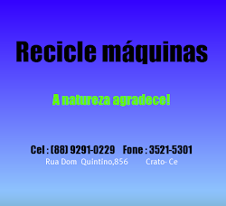 Recicle Maquinas !