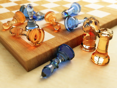 Chess Wallpapers: chess board color orange