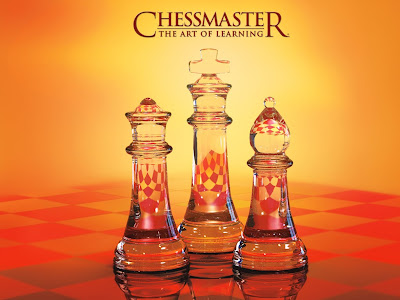 Chess wallpapers: chessmaster orange board picture