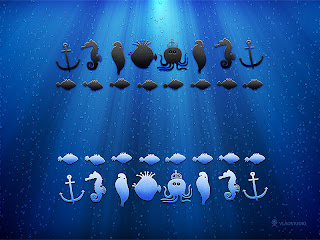 go to Chess wallpapers: chess pieces that looks like fish
