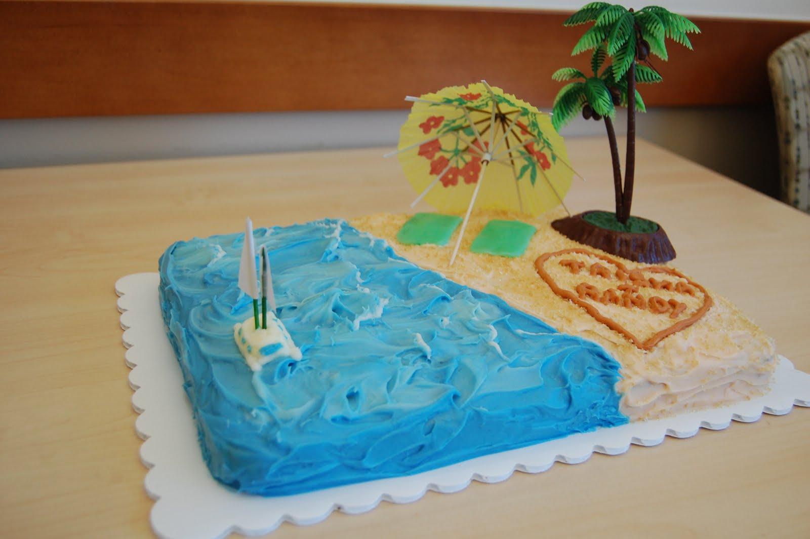 hawaiian luau wedding shower