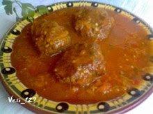 Кюфтета с доматен сос