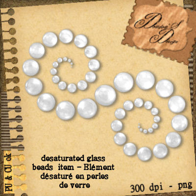 Glass Beads BY Doudou Cu+free