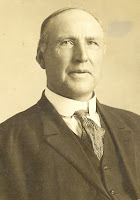 Edward Orstad, my mother's paternal grandfather, who immigrated here with his wife Marit and children from Norway