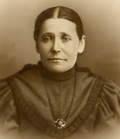 Marit Gissinger Orstad, wife of Edward, who immigrated with him to the United States from Norway