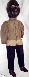 19th century primitive southern folk art figure