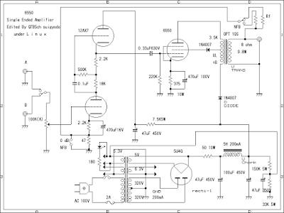 kt88 or 6550 Power amplifier